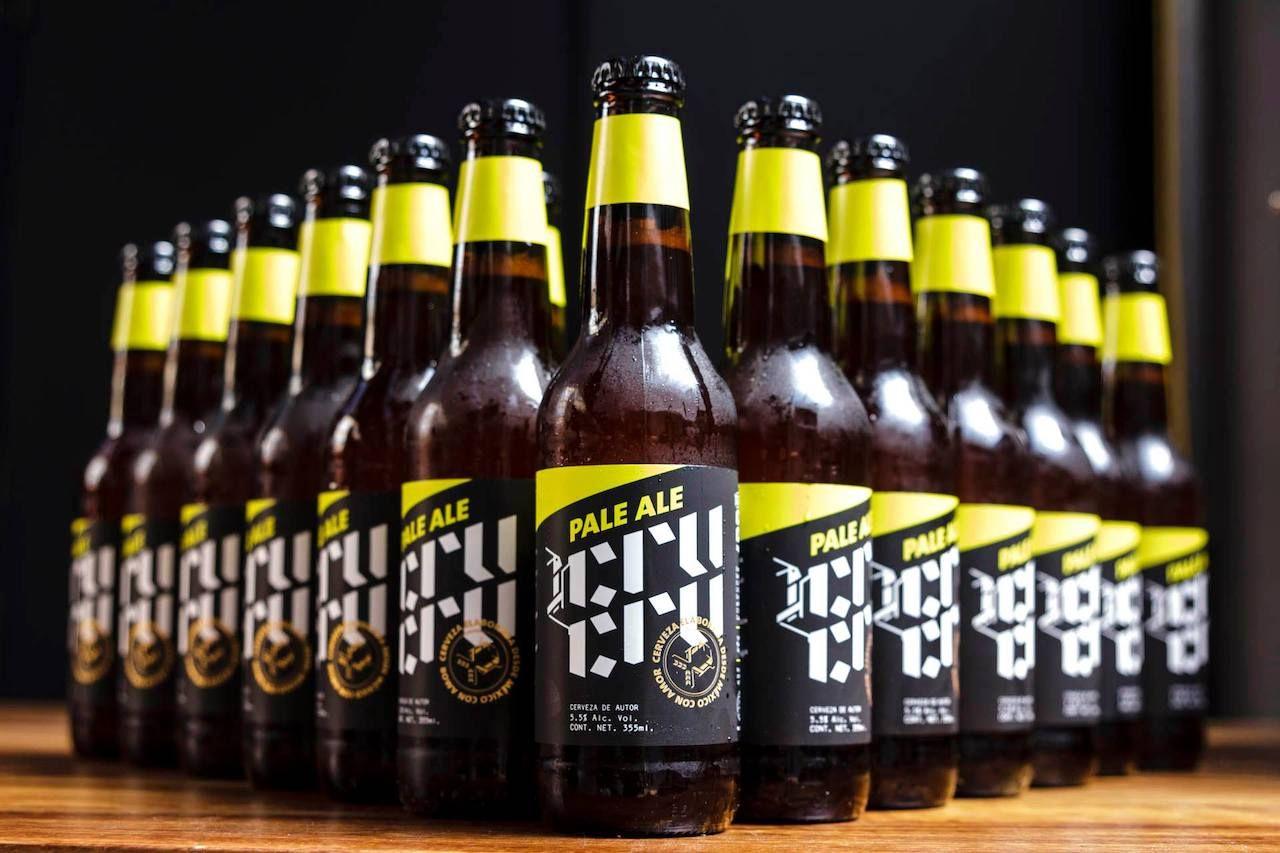 Cru Cru pale ale beer