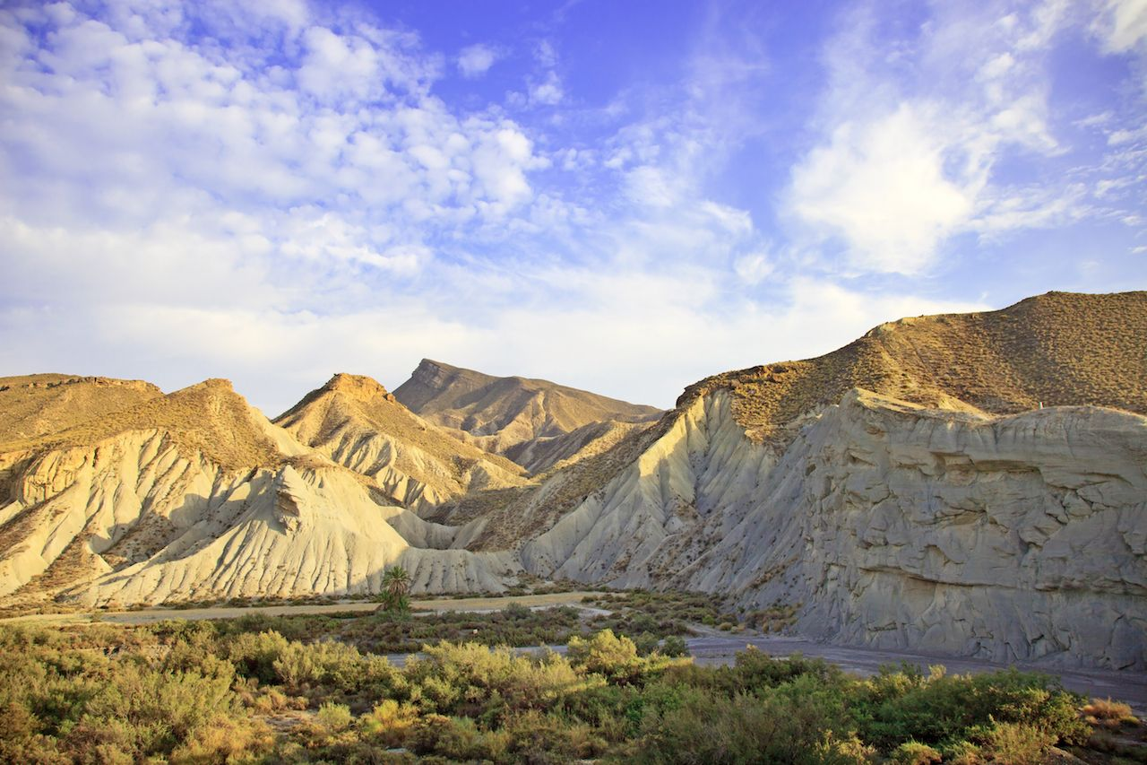 Desert Tabernas in Spain