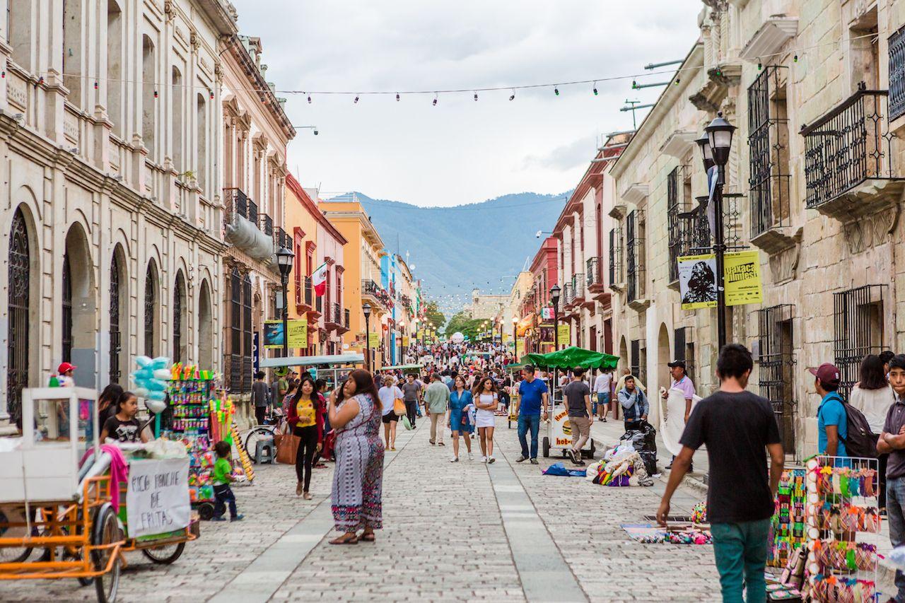 Downtown Oaxaca Street Life