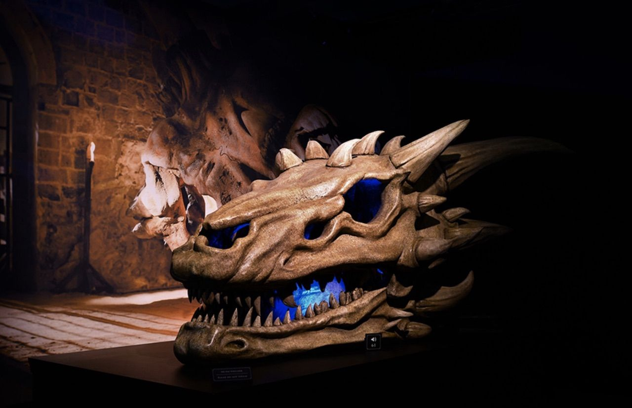 Game of Thrones dragon skull