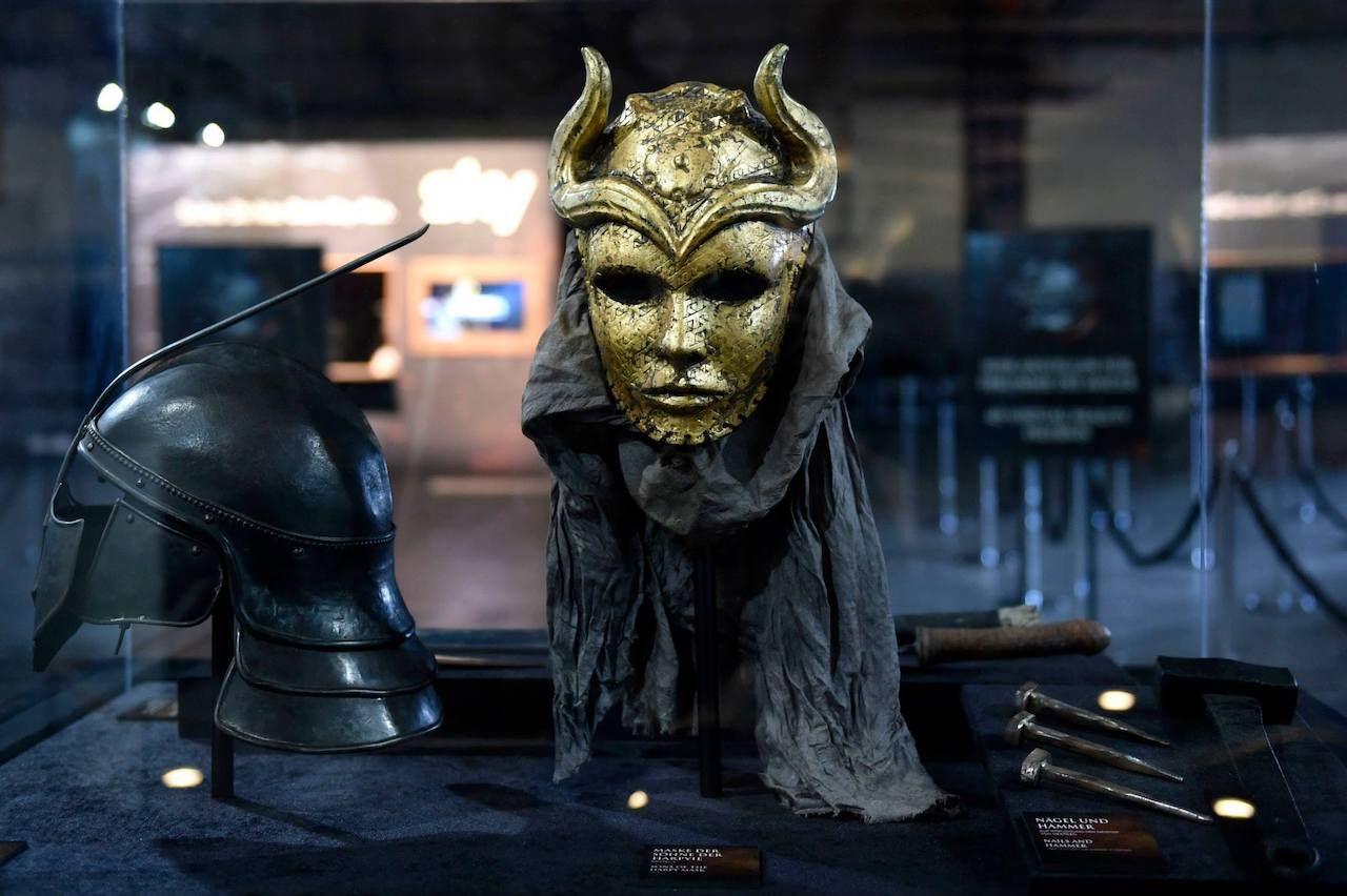 Game of Thrones exhibition props
