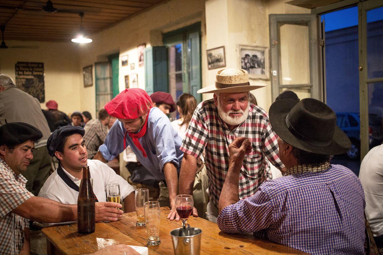 Gauchos at Fiesta de la Tradicion in San Antonio de Areco, Buenos Aires, Argentina