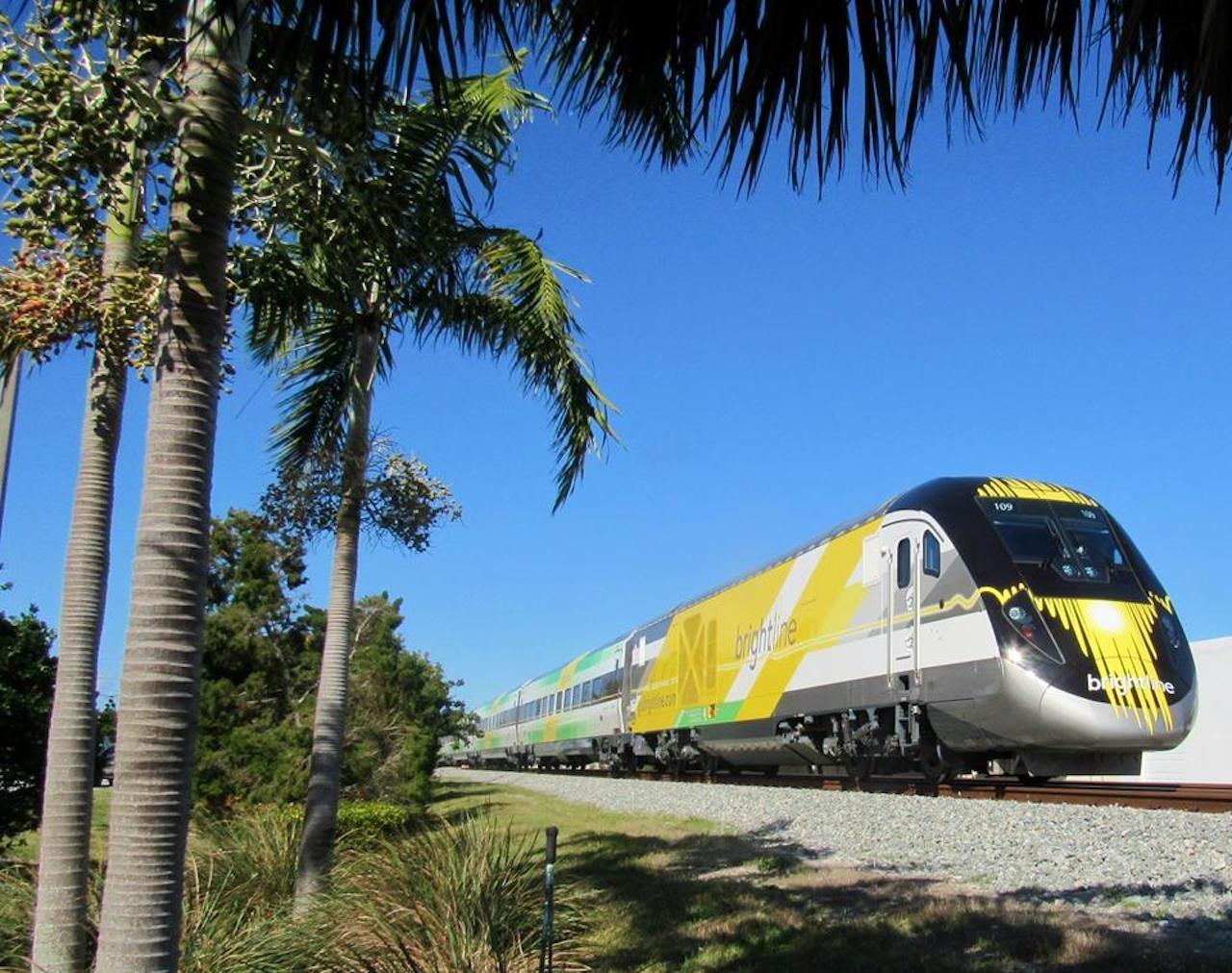 GoBrightline train