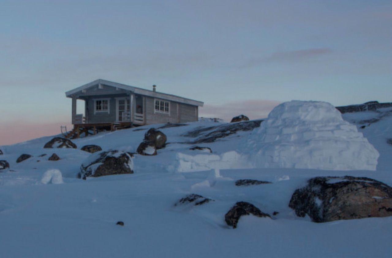 Greenland igloo