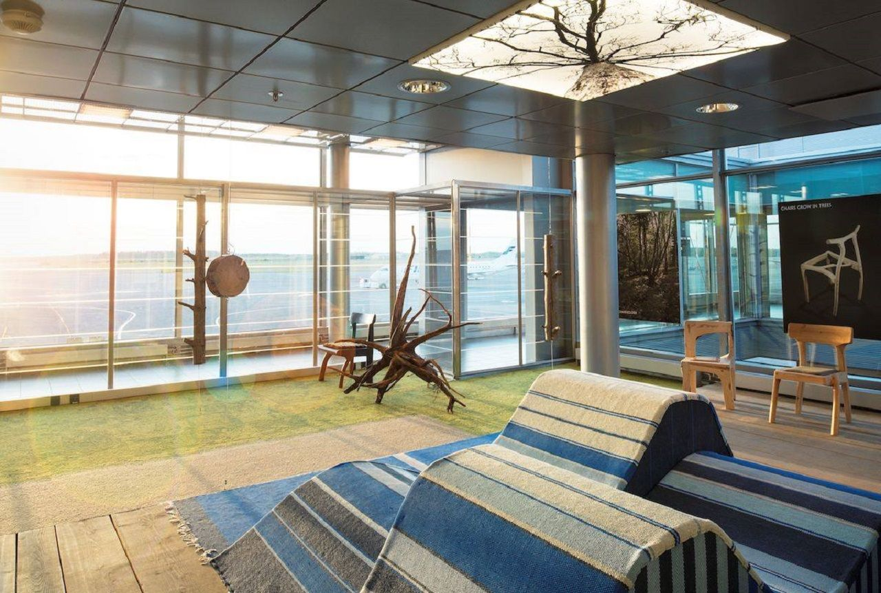 Kainuu Lounge at Helsinki Airport