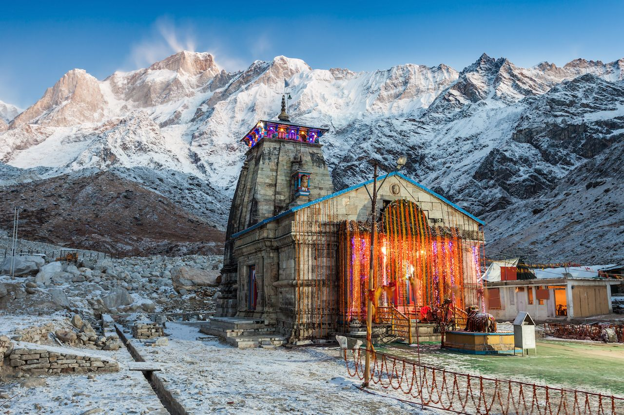 Kedarnath Temple in India