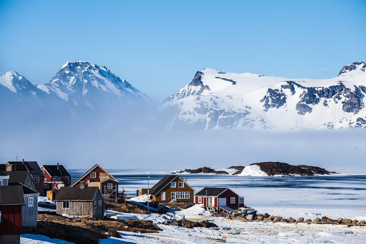 Kulusuk village, eastern Greenland