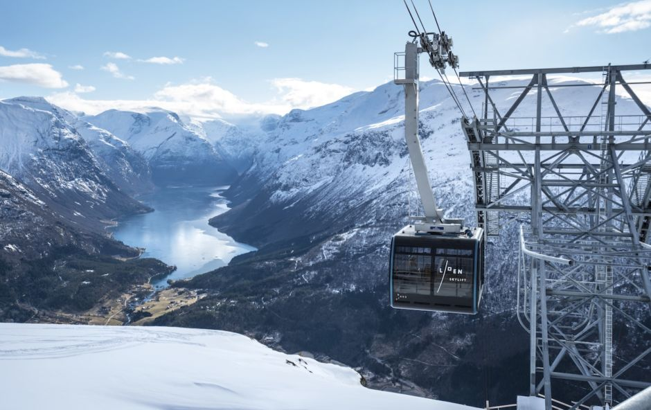 Loen Skylift Fjord Norway