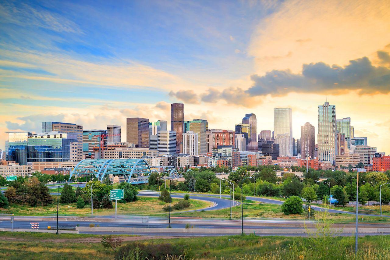 Panorama of Denver