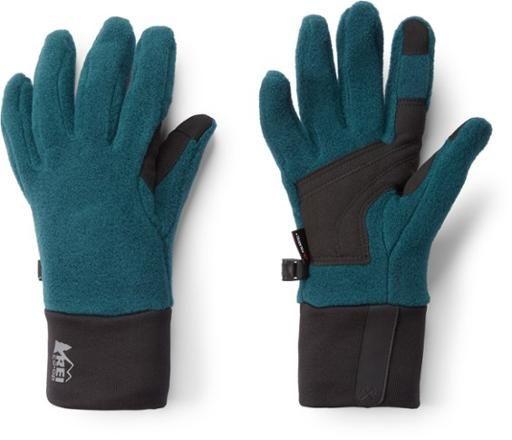 REI co-op fleece gloves women