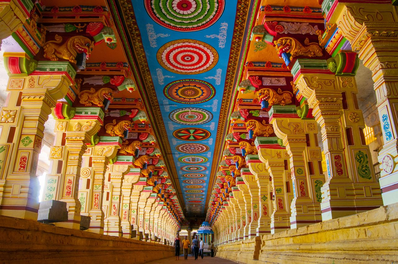 Ramanathaswamy temple in India