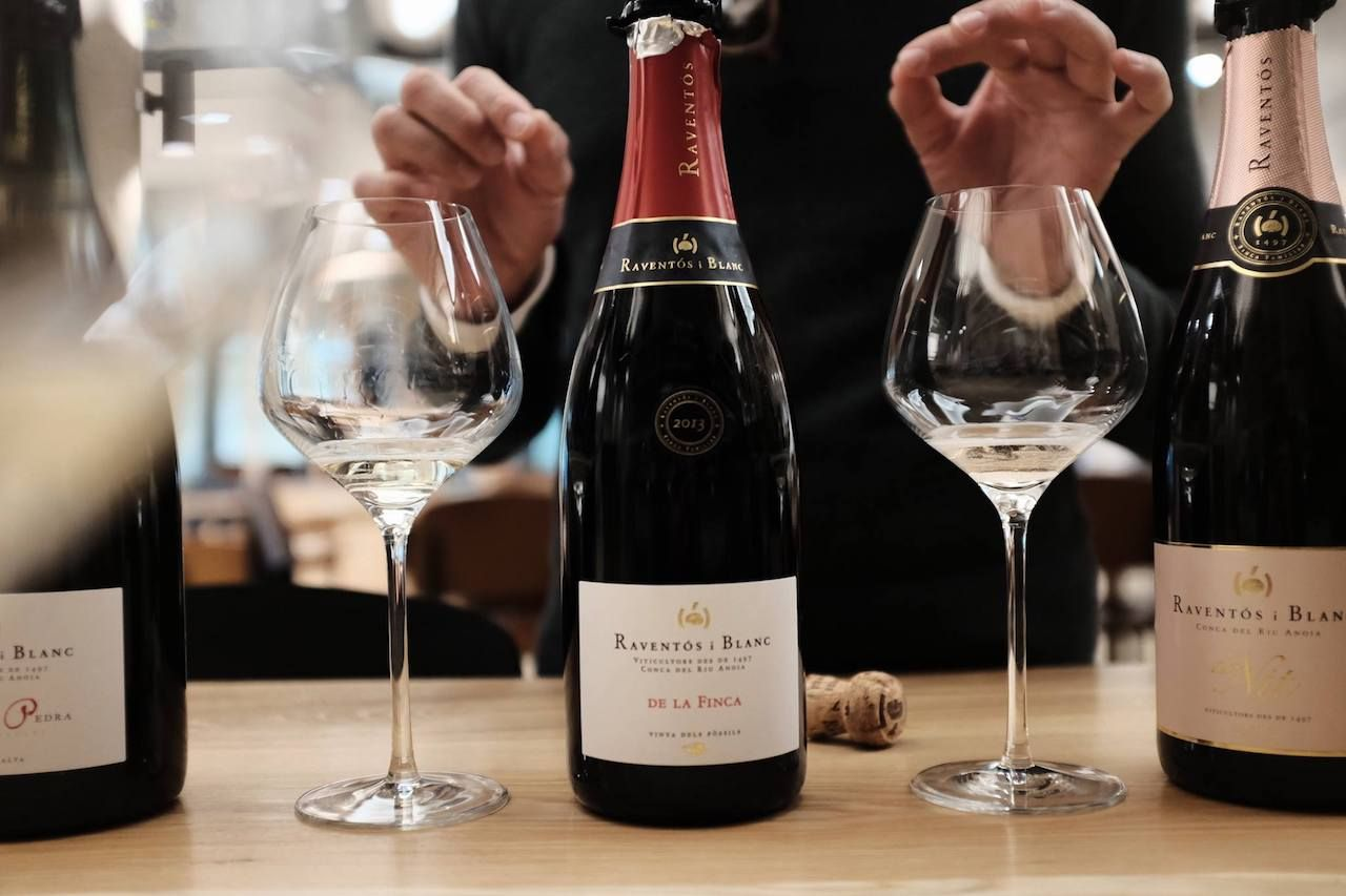 Raventos i Blanc wine