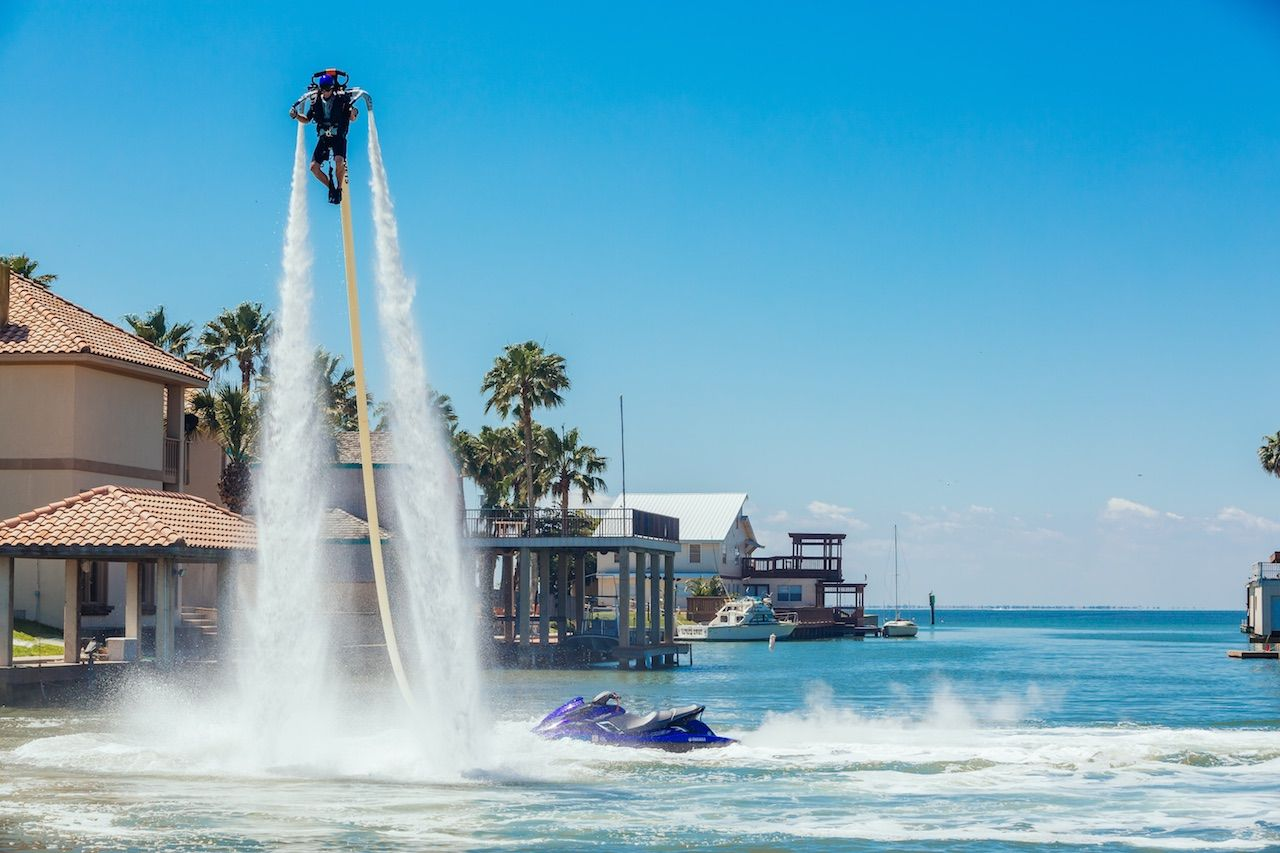 Rebecca Britt Photography flyboard South Padre