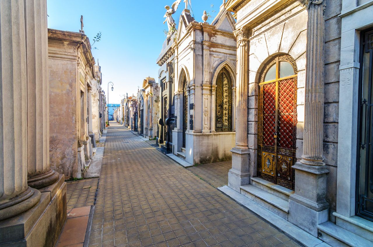 Recoleta Cemetery, the most important and famous cemetery in Argentina