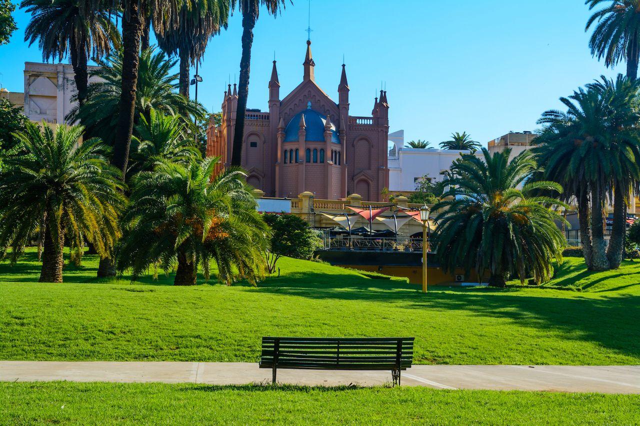 Recoleta cultural center, located in Buenos Aires, Argentina