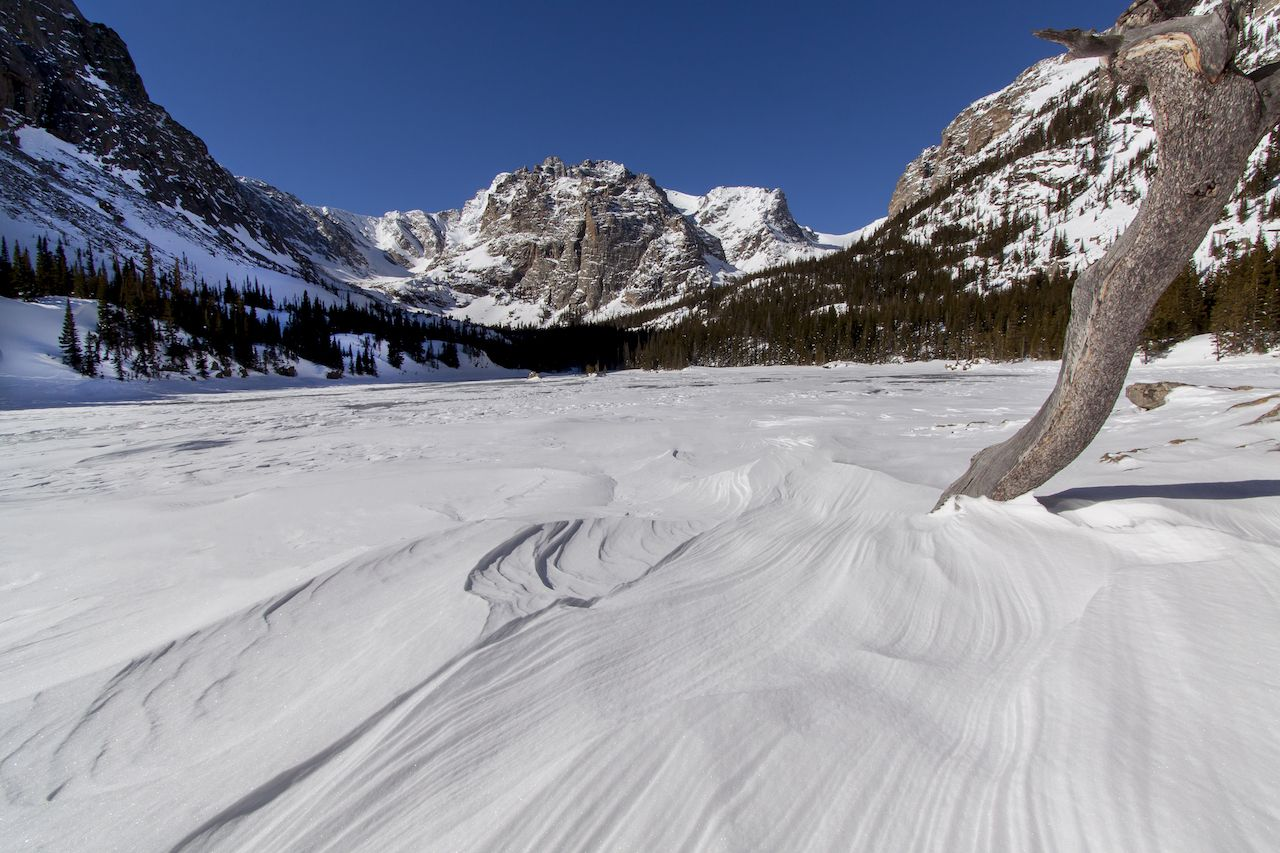 Rocky Mountain National Park, Colorado, in winter