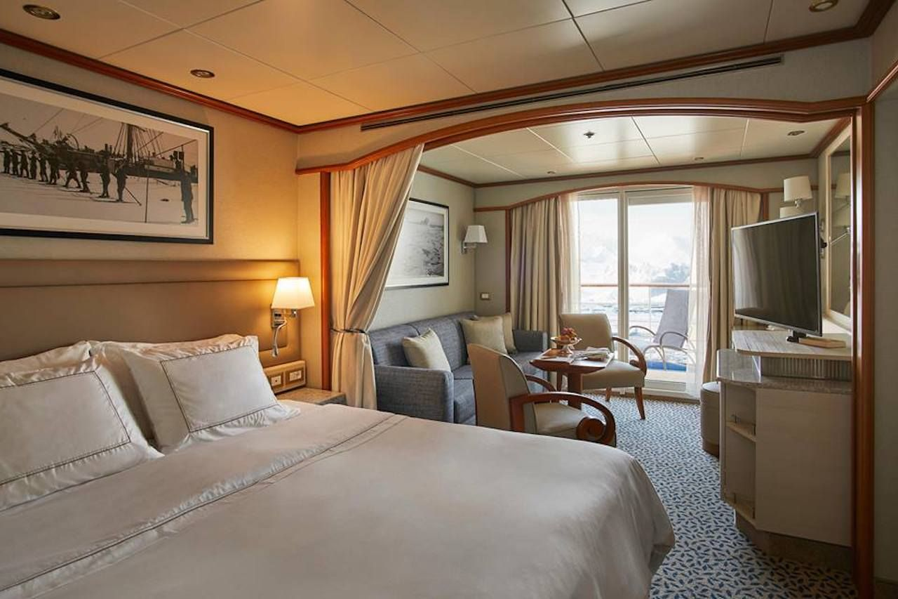 Silversea Cruises stateroom