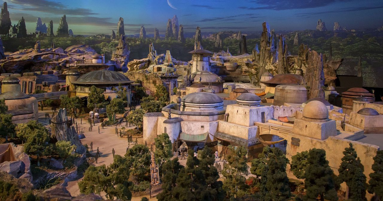 Stars wars exhibit at Disneyland for 2019