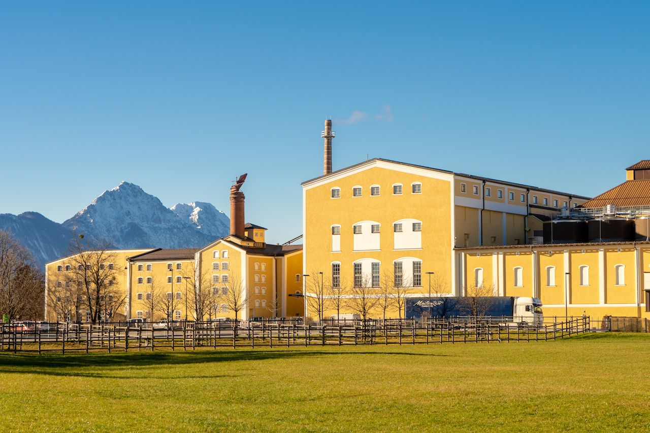 Stiegl Brewery, Salzburg, Austria