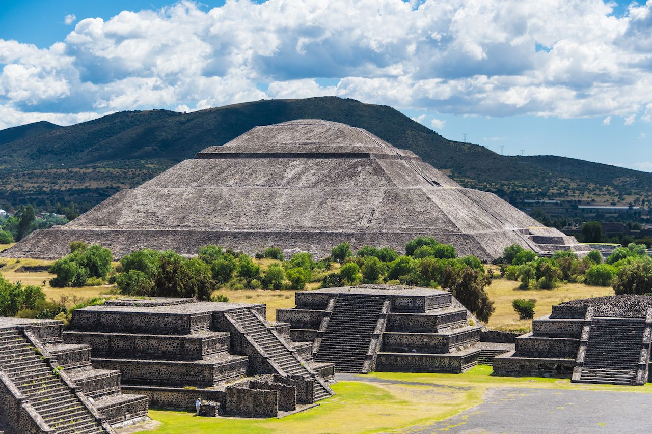 Sun Pyramid outside Mexico City