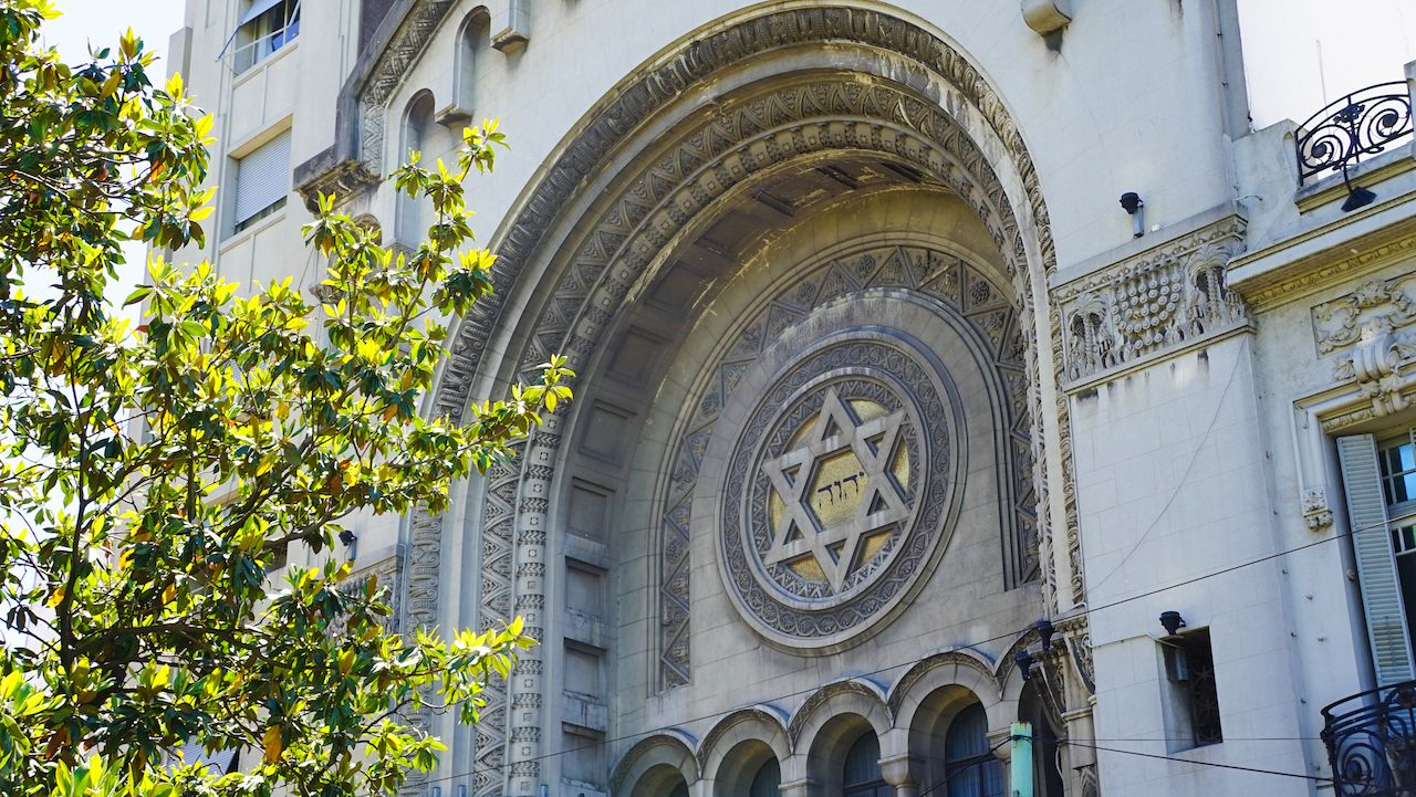Synagogue in Buenos Aires, Argentina