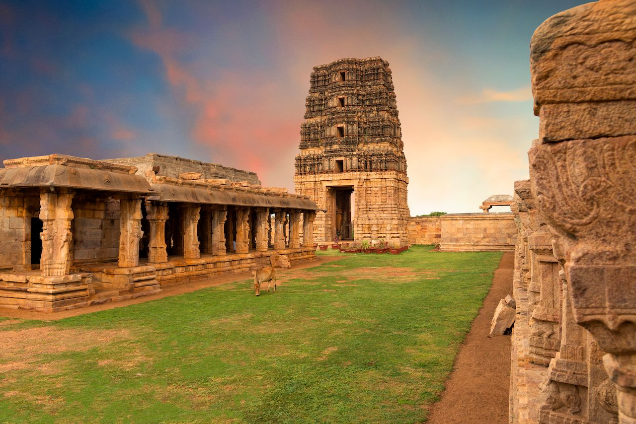 Temple in gandikota in India