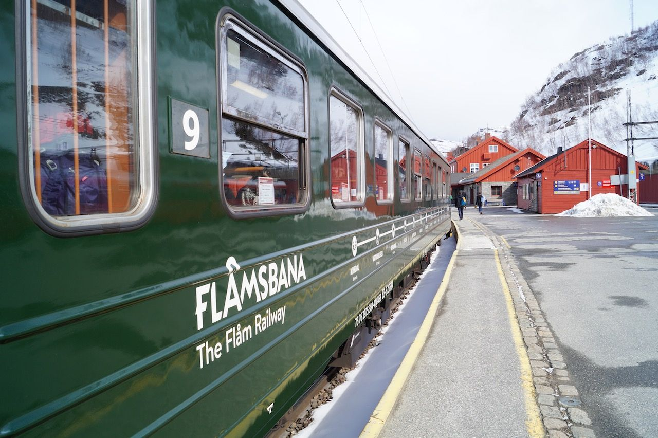 The Flam Railway Fjord Norway