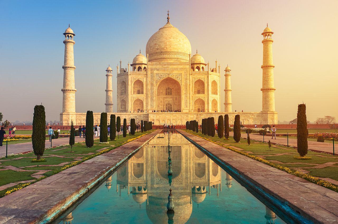 The Taj Mahal in India