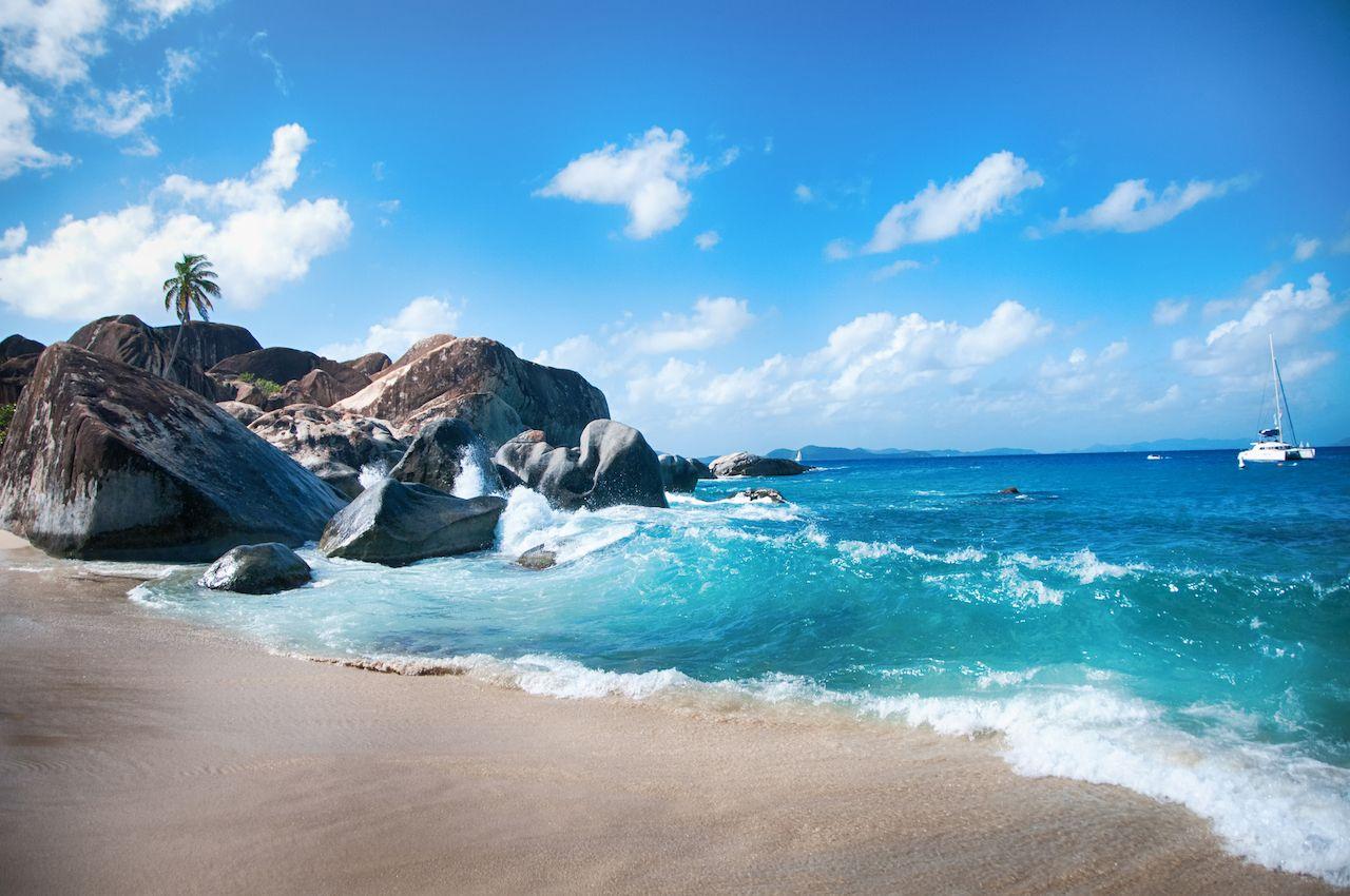 Tortola BVI beachscape