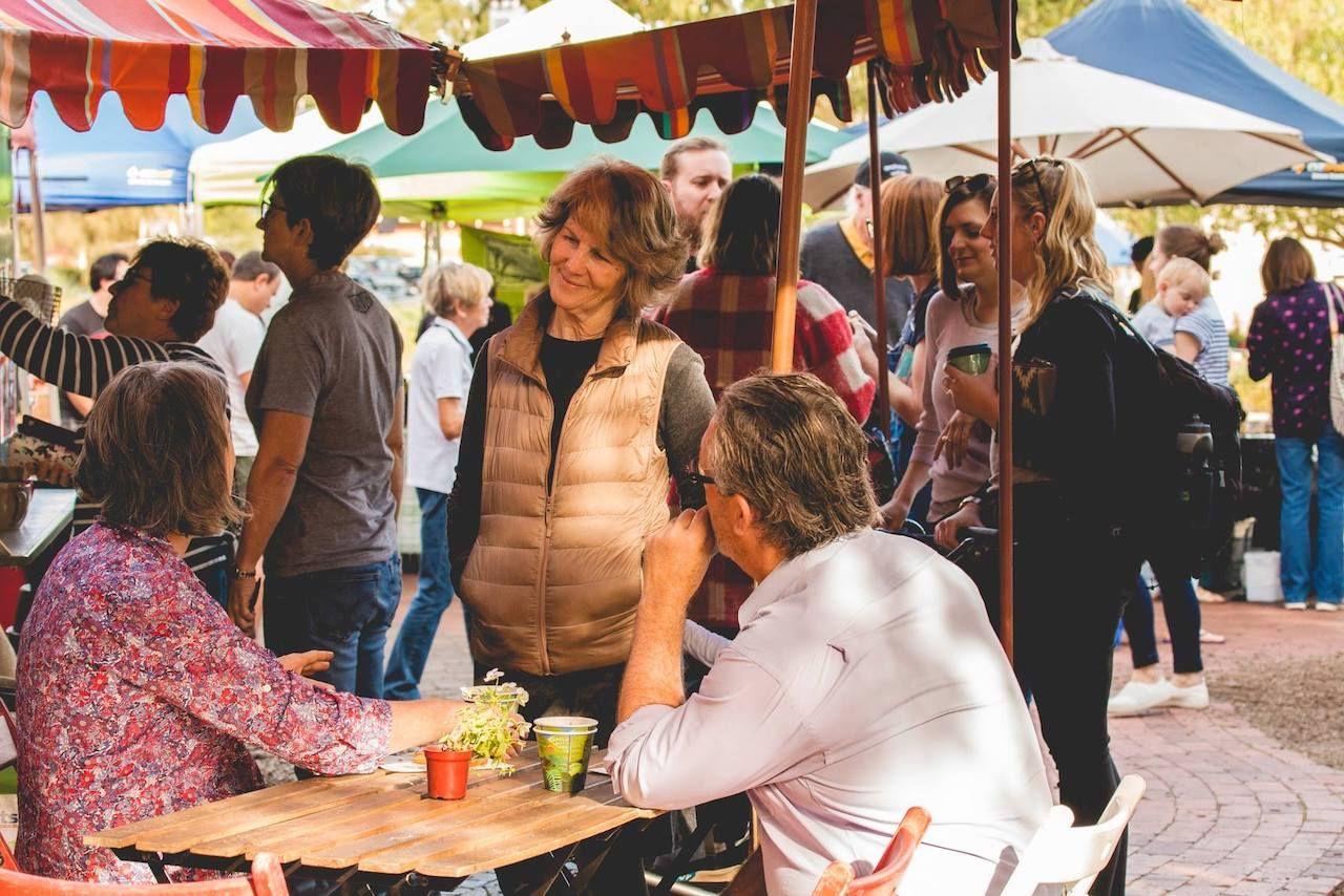 Willunga Farmers Market in Australia