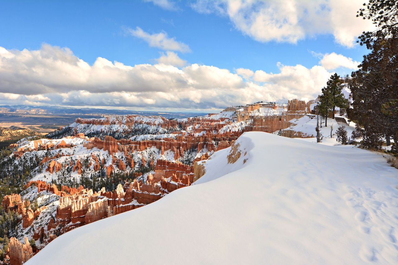 Winter in Bryce Canyon, Utah