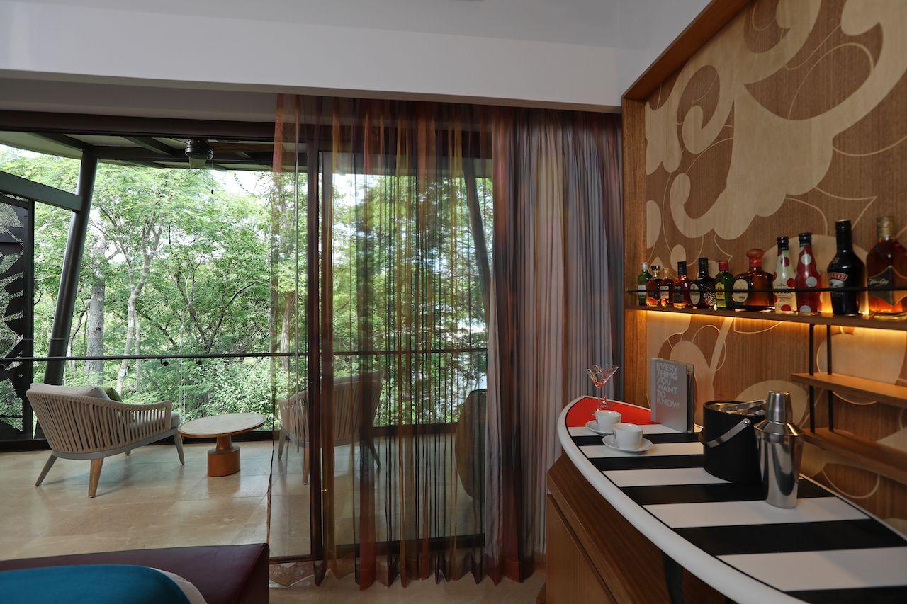 W Hotel Costa Rica minibar