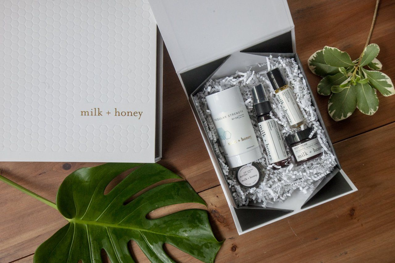 milk and honey on the go kit