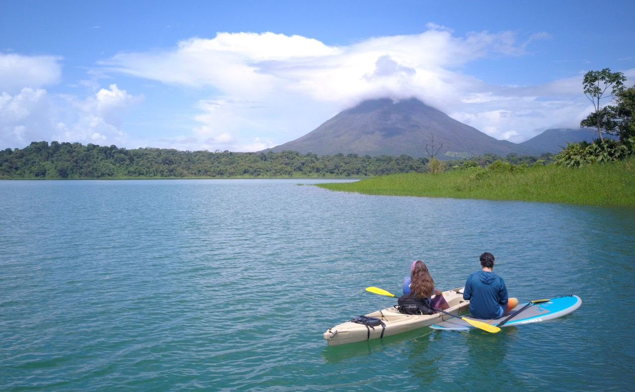 Water sports in Central America