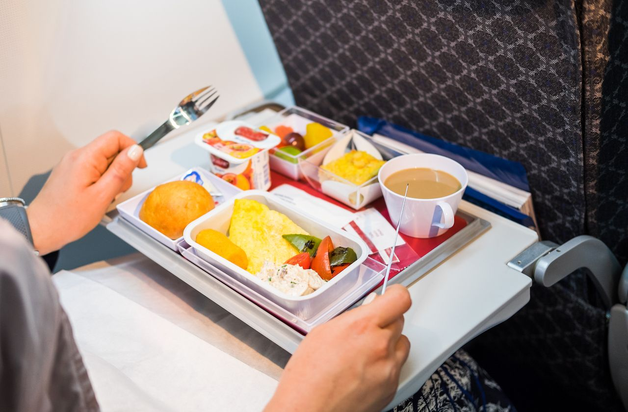 The foods to avoid while flying