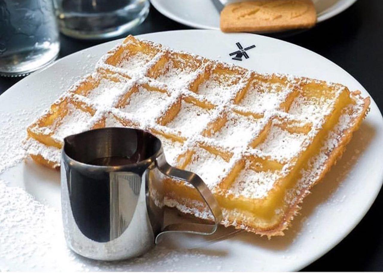 Belgian waffles from Maison Dandoy