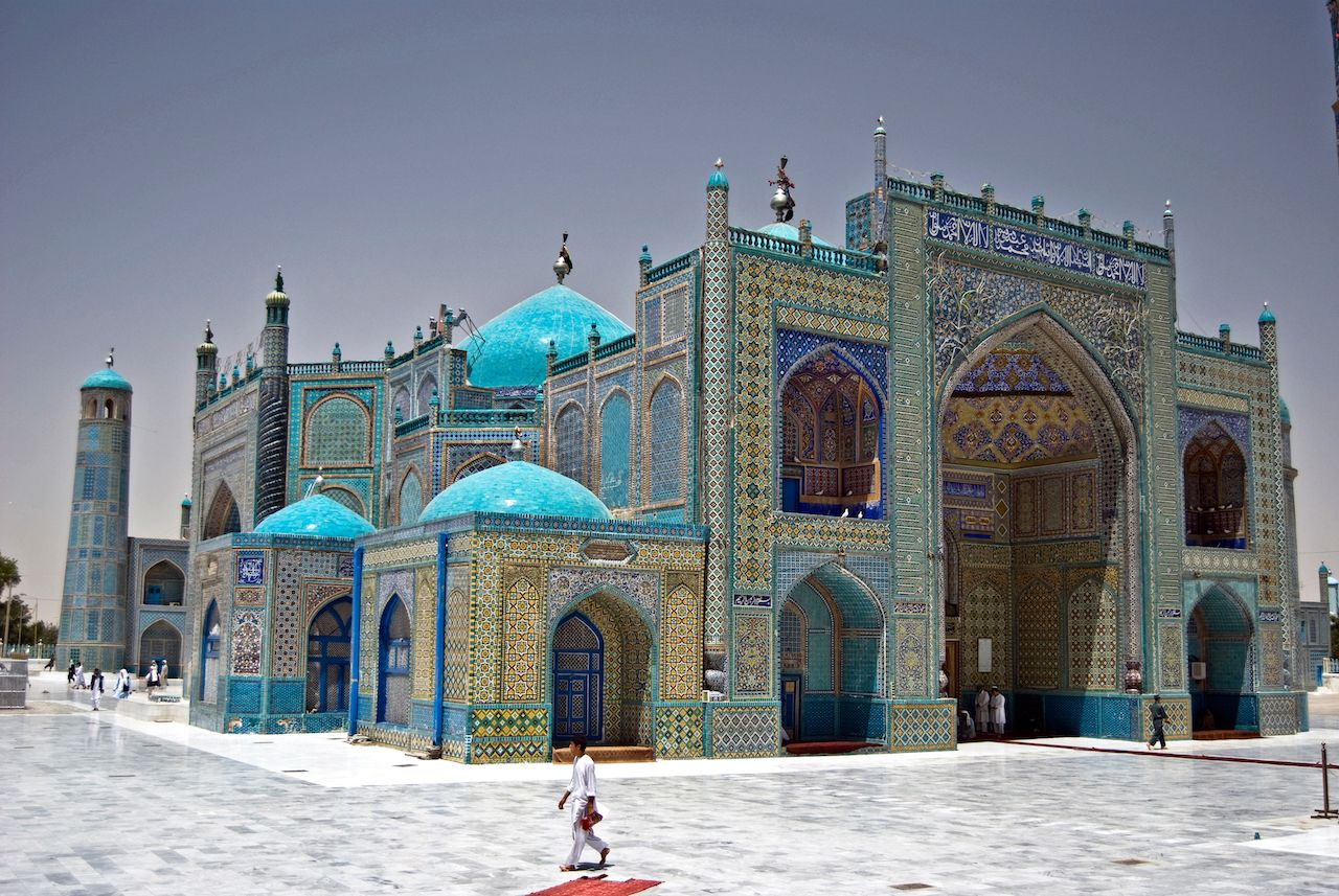 Blue Mosque in Afghanistan