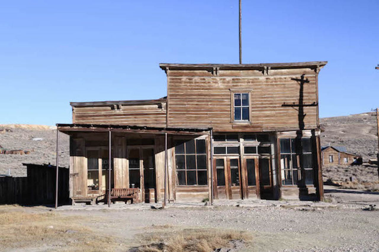 Bodie, California, ghost town hotel