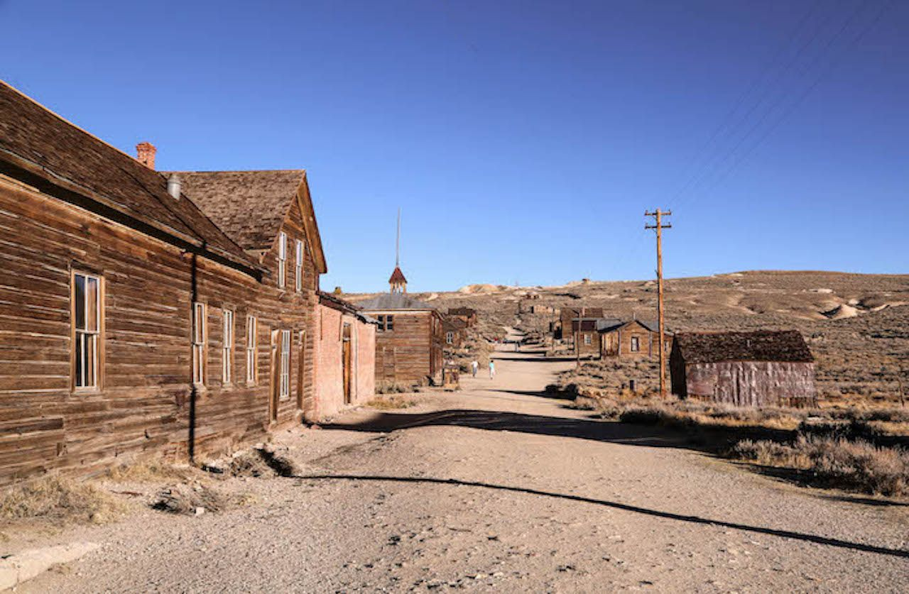 Touring California s ghost towns