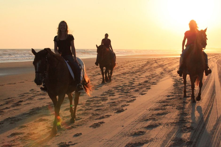 Horseback Riding on Cape Hatteras Seashore