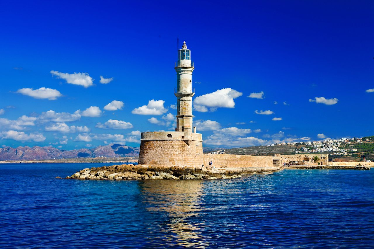 Crete lighthouse