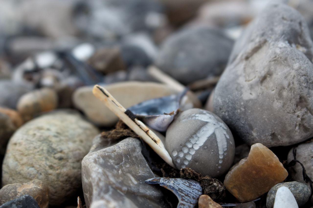 Denmark stone beach