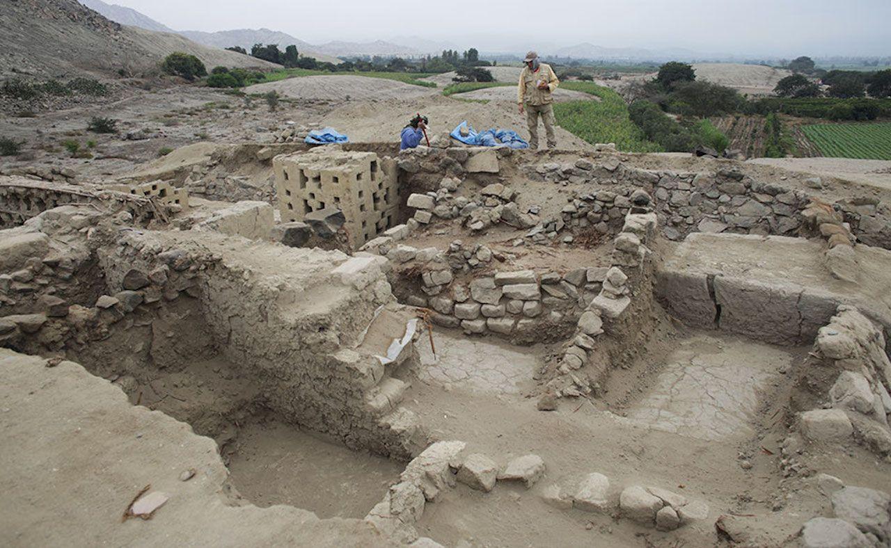 Dig in Peru