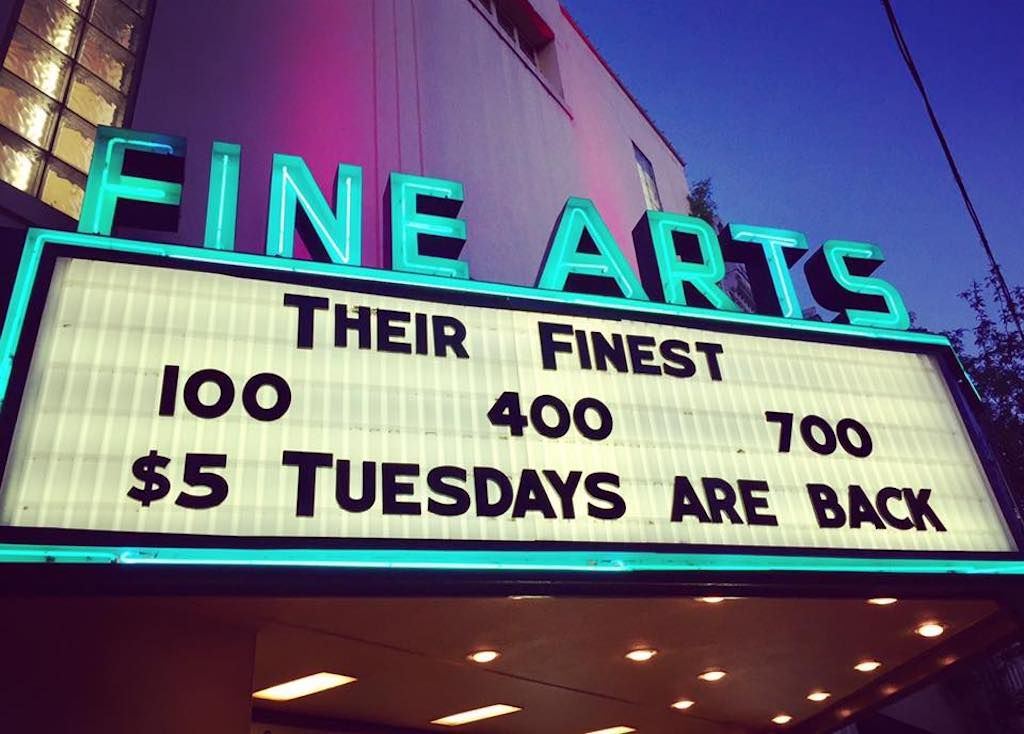 Fine Arts Theatre in Asheville, North Carolina