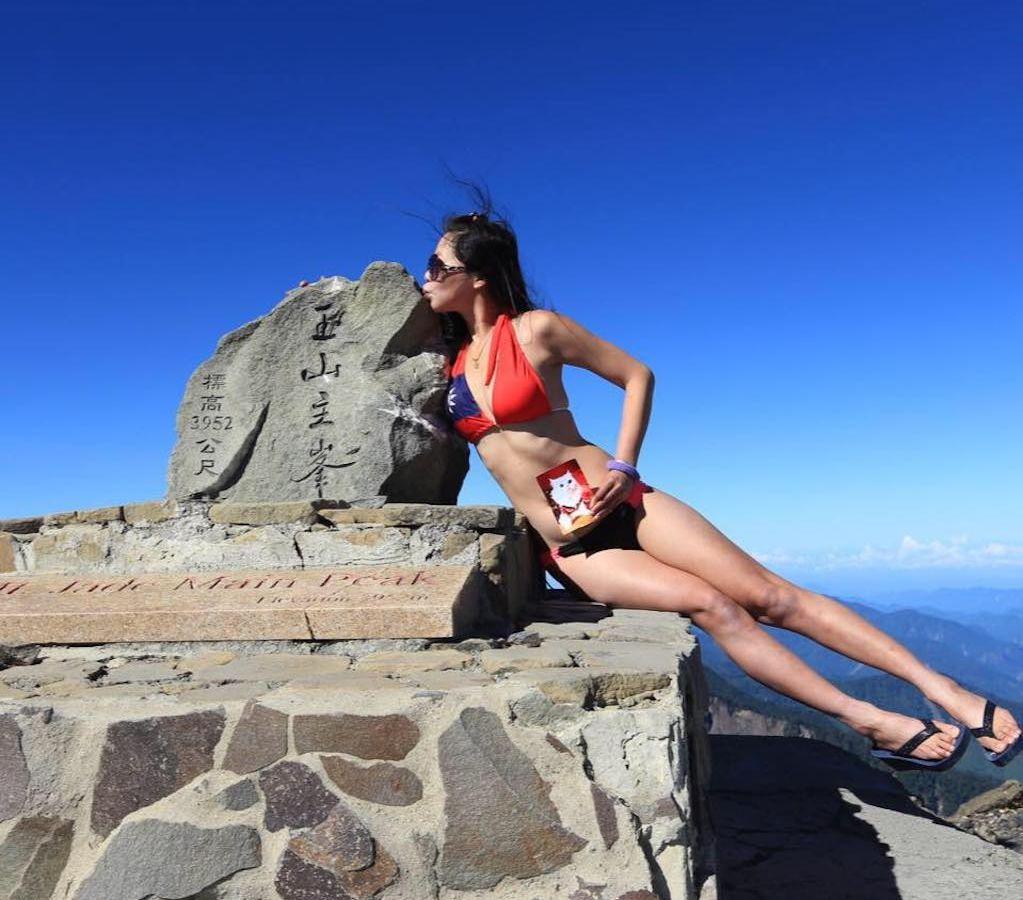 Popular 'Bikini Hiker' dies of hypothermia after Taiwan fall