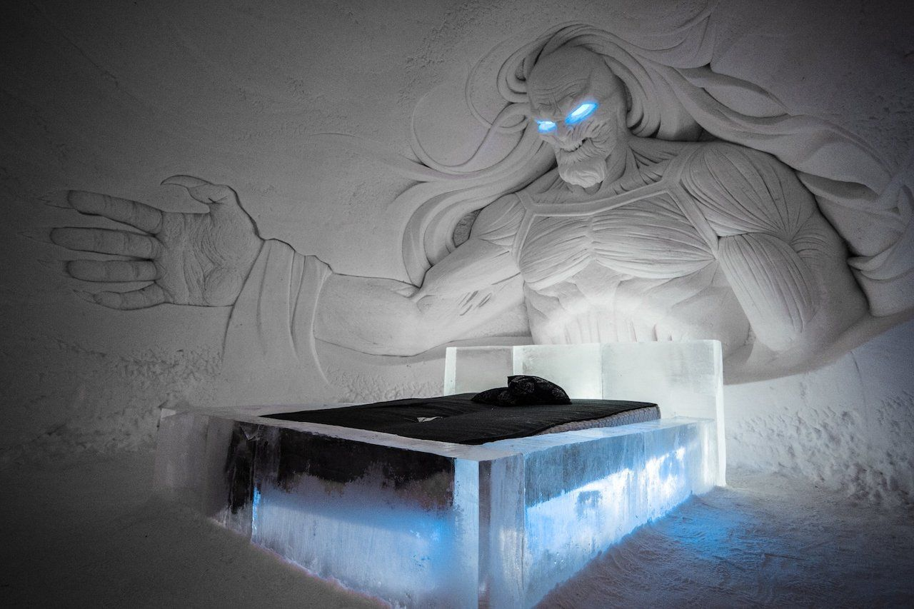 Finland 'Game of Thrones' ice hotel