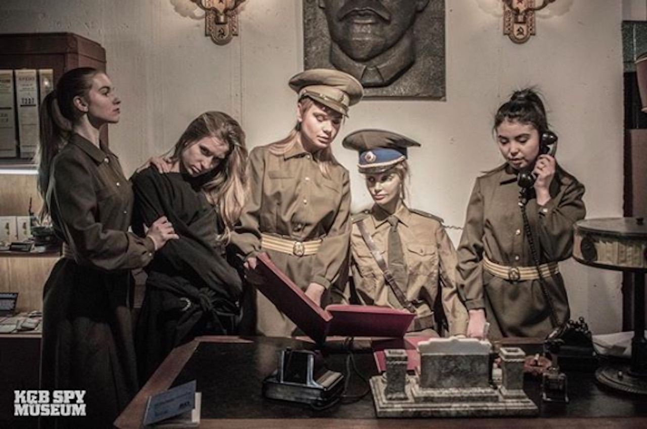 KGB museum opens in NYC
