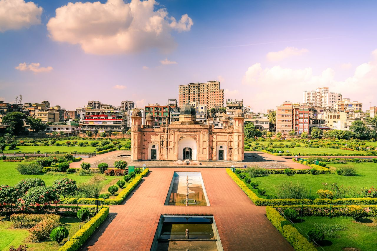 Lalbagh Fort Golden Fort Aurangabad in Dhaka City, Bangladesh