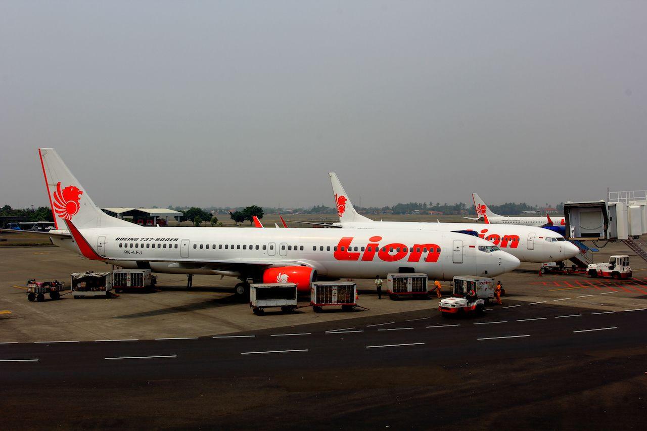 Lion Air planes
