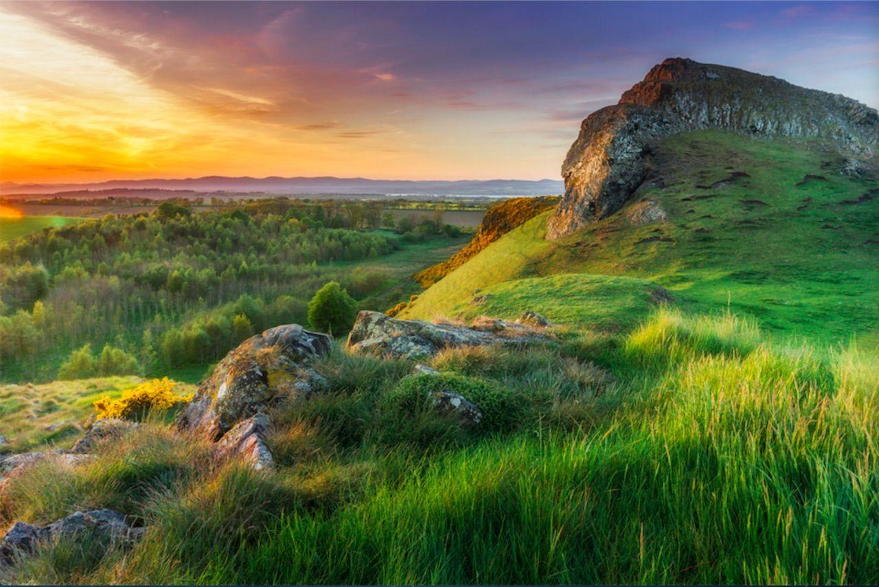Sights in West Lothian, Scotland